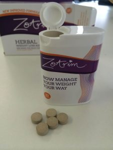 Zotrim slimming tablets