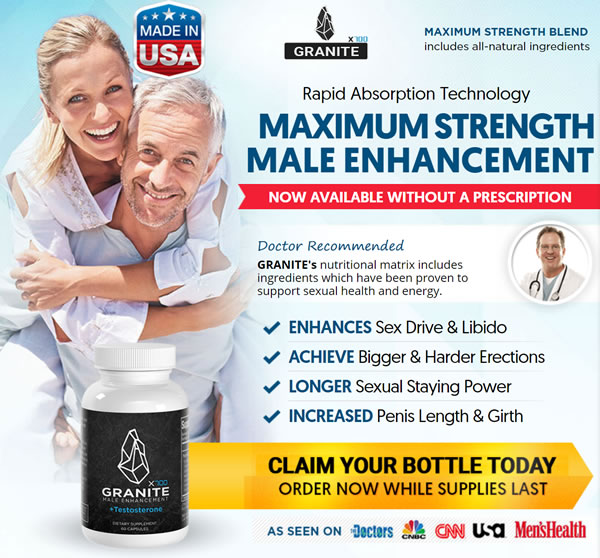 Granite male enhancement special offer